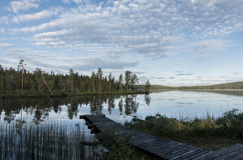 Aankomst Fjellborg Lodge