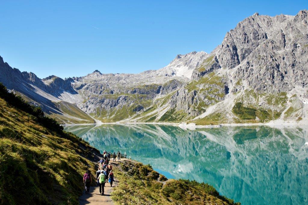 Lunersee, hiking (c) Christa Engstler