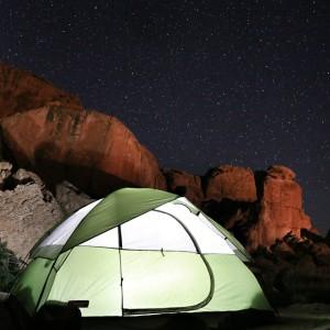 Coleman kampeermateriaal tent