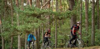 Mountainbiken in Picardisch Wallonië, Mer de Sable © www.wapinature.be - Coralie Cardon