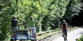 RAVeL wandel- en fietswegen (c) Province de Namur