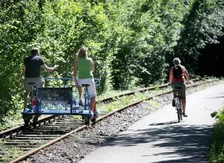 RAVel wandel- en fietswegen in Wallonië