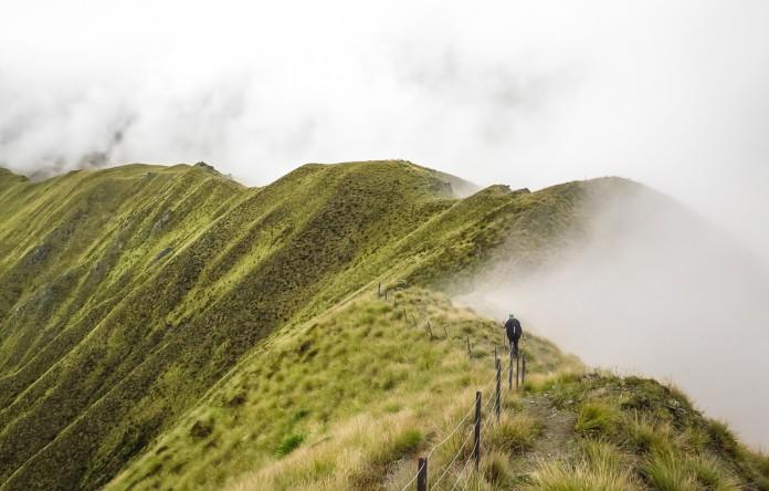 Te Araroa onderweg op de Motatapu