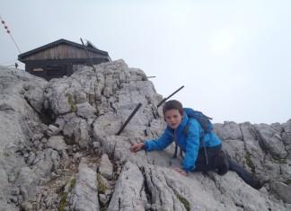gevaren in de bergen met kinderen