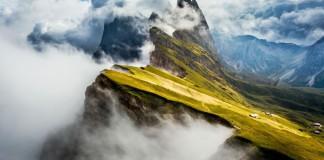 Inzending National Geographic fotowedstrijd 'Edge of the World' door Frederica Violin