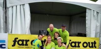Team Far Out tijdens Spartacus Run