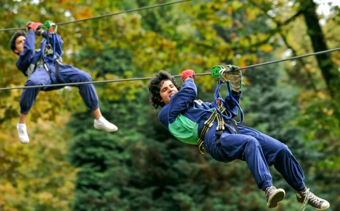 Avonturenpark in Waals-Brabant - Aventure Parc, Waver