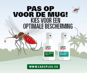 Care Plus - Pas op voor de mug, kies voor een optimale bescherming