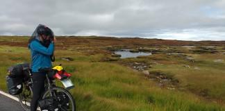 Fietsen op de Schotse eilanden - Lien Lammar