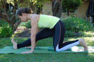 Yoga voor trailrunners - Halve split