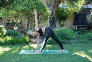 Yoga voor trailrunners - Omgekeerde driehoek