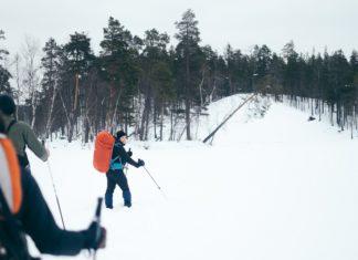 checklist wintertrekking Finland