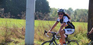 Zohra fietst door Langdorp en Calpe