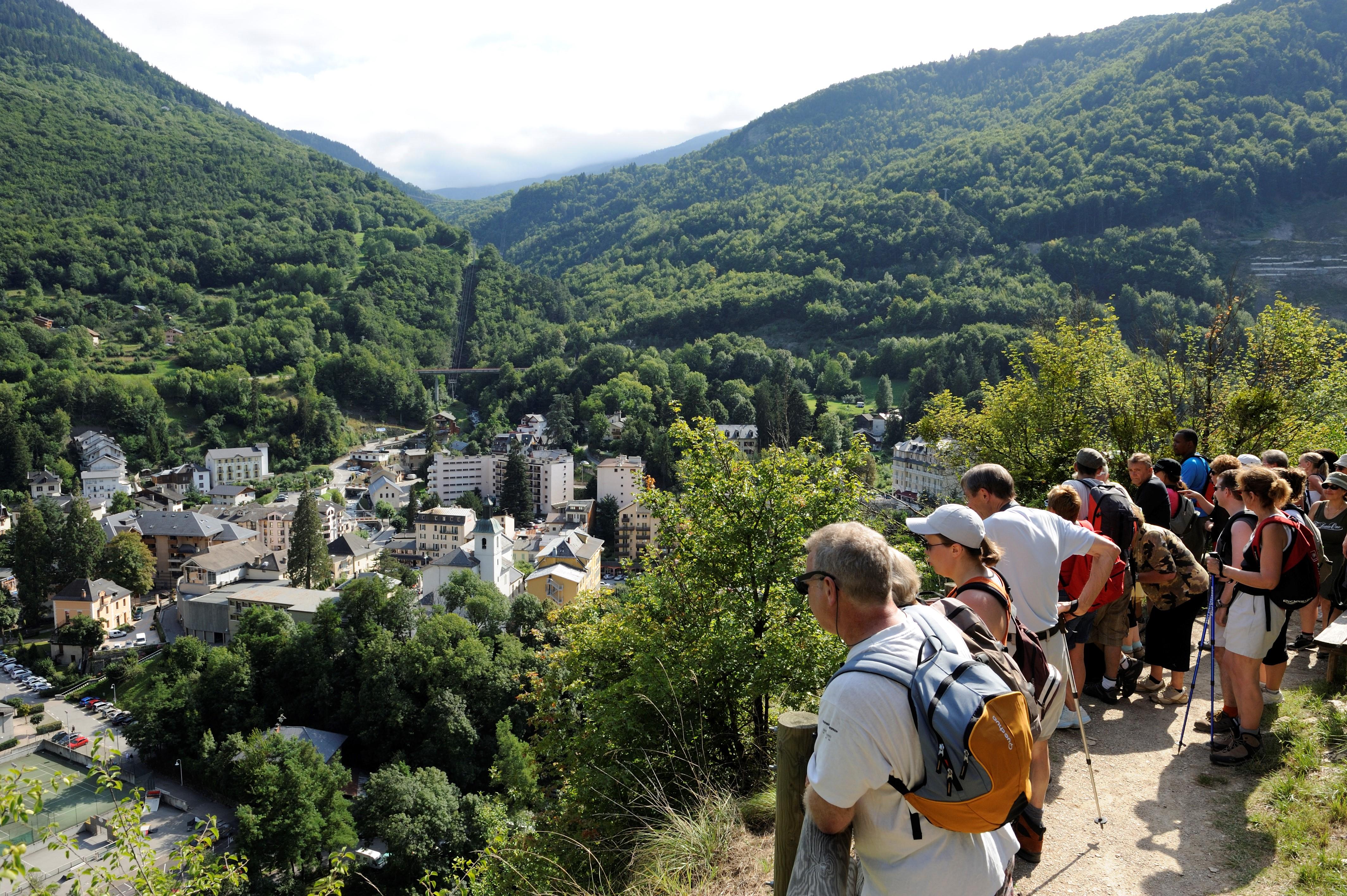 Wandelingen rond Brides-les-Bains - Copyright P. Lebeau
