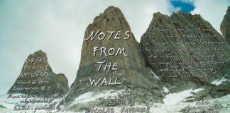 Film Notes from the wall, met Siebe Vanhee
