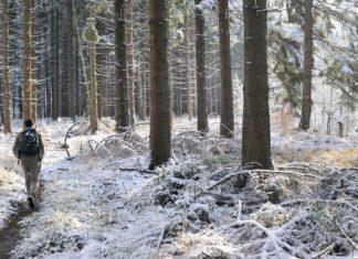 Wandelen in Wallonië in de winter © WBT SPRL Cernix Pierre Pauquay