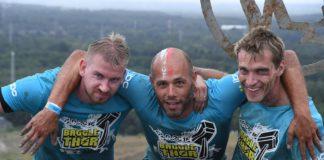 Spartacus Run Battle of Thor Bjorn Hauben, Dax Van Camp en Davy Veugen