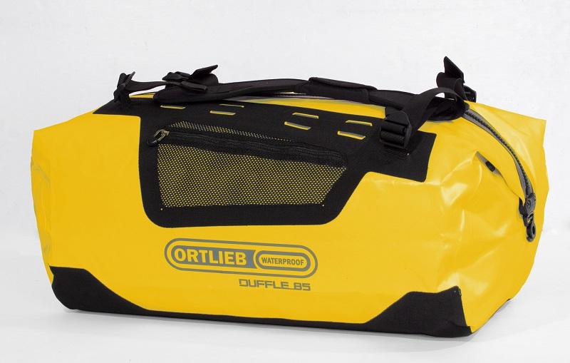 Ortlieb Duffle bag geel als tas