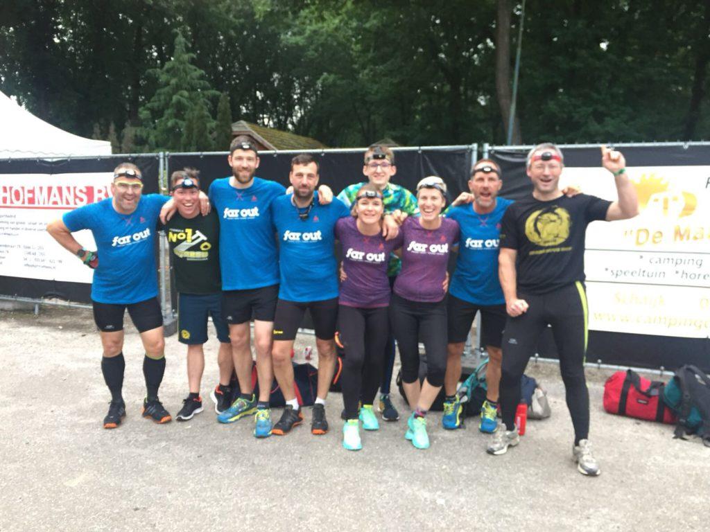 Team Far Out Breakout Run