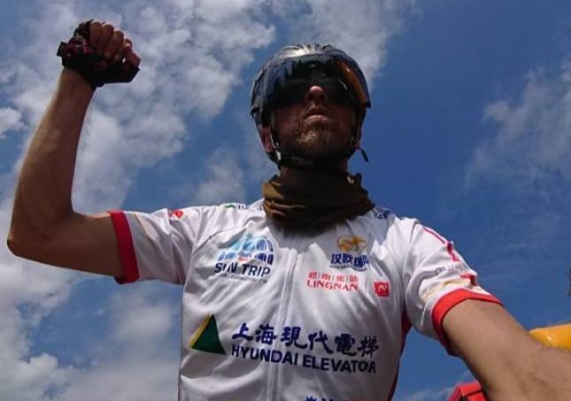 Raf van Hulle wint The Sun Trip 2018 Lyon-Guanghzou