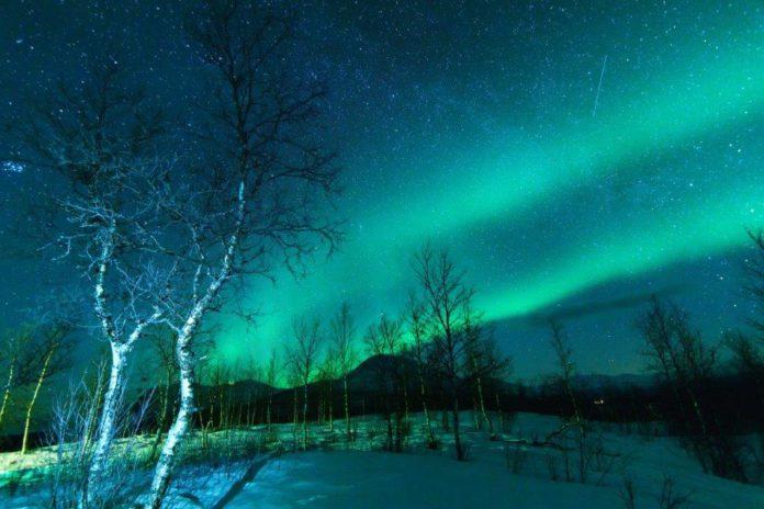 noorderlicht zien Lapland Zweden