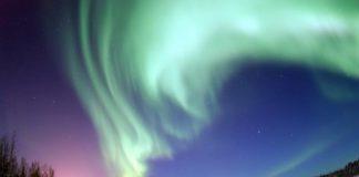 noorderlicht Bear lake Alaska