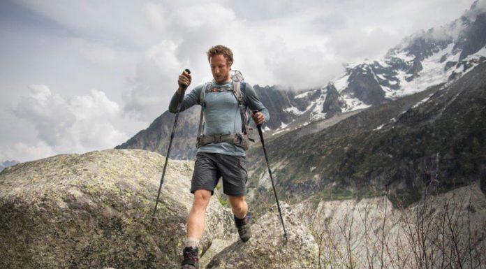 Trekkingmerk Forclaz over wol - mountain trekking