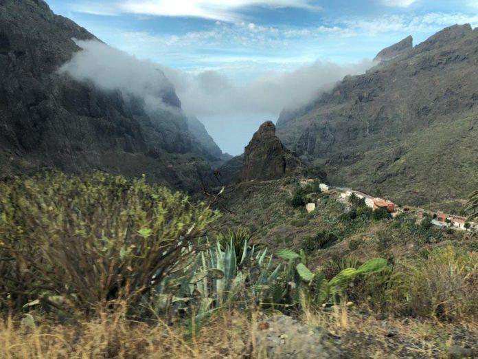 hiken op Tenerife Masca-kloof