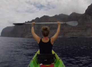 kajakken op Tenerife