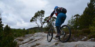 Mountainbiken in Schotland - Lotte op de trails van Balblair