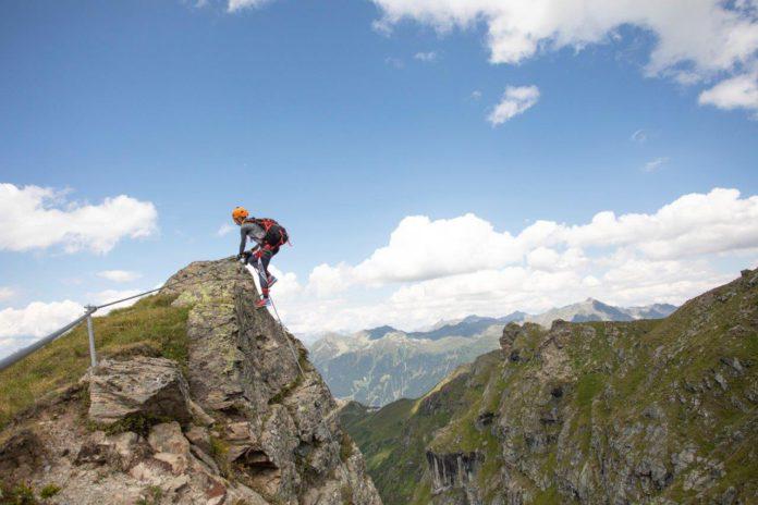 via ferrata Madrisella in Vorarlberg (c) Philipp Steurer - Montafon Tourismus GmbH, Schruns