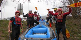 Kort verslag Belgian Rafting Cup 2019 - het winnende team uit Landen