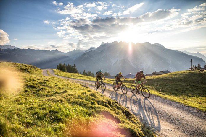Fietsen in Montafon/Vorarlberg: mountainbiken rond de Itonskopf