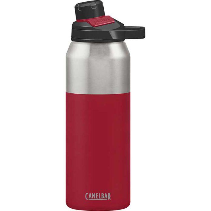 CamelBak Chute Mag 1L Bike Water Bottle Cardinal