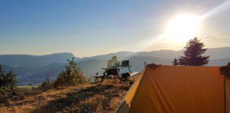 DYI hiking trip Hoe maak je zelf een tent