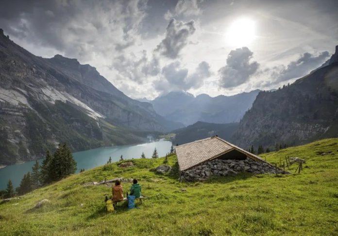 wandelen en fietsen in Zwitserland