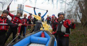 Al ingeschreven voor de Belgian Rafting Cup op 28 & 29 maart