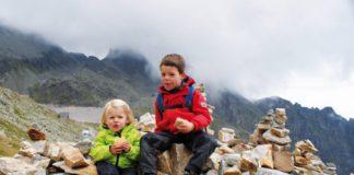 Tips voor bergwandelen met kinderen
