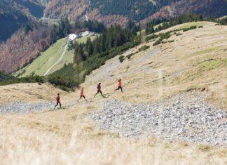 trailrunning-parcoursen van Innsbruck