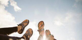 Test Chaco sandalen