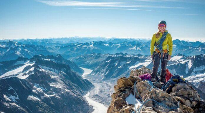 Op een Zwitserse top tijdens 100% Women – Peak Challenge