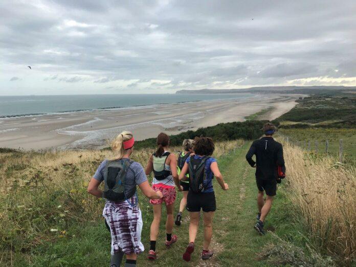 Trailrunnen aan de Opaalkust in Frankrijk