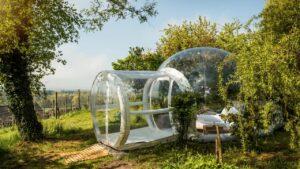 Zwitserland Bubble Hotel Kartause Ittingen